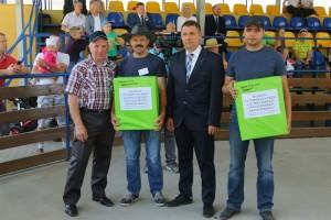 Nagroda wręczana przez Pana Kazimierza Brzozowskiego